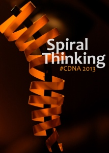 Possibilities of Spiral Thinking: CDNA 2013 (c) 2013 Amberwood Media Group, all rights reserved